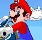 Mario manobras de motocross