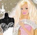 Barbie costurar vestido de noiva