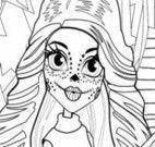 Colorir desenho da Skelita