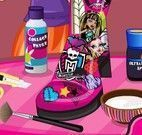 Decorar bota das Monster High