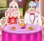 Jantar dos namorados Elsa e Jack