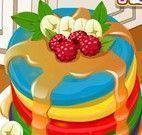 Receita de panquecas coloridas