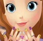 Princesa Sofia manicure