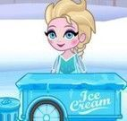 Elsa vender sorvete e picolé