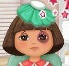 Dora machucada cuidar