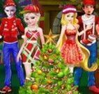 Árvore de natal das princesas