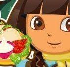 Preparar tacos com Dora