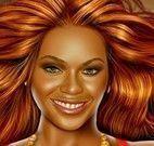 Beyoncé maquiagem de celebridade