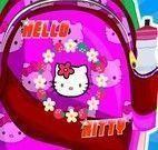 Decorar mochila Hello kitty