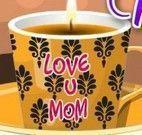 Decorar xícara de chá para mamãe