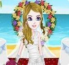 Vestir noiva para casar na praia