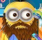 Minion barba e cabelo