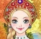 Vestir menina da Russia
