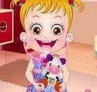 Bebê Hanzel no médico