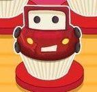 Fazer cupcakes dos carros