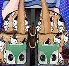 Decorar bolsa da Hello Kitty