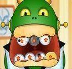 Cuidar dos dentes dos monstrinhos