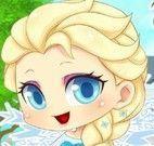 Elsa bebê jardineira