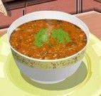 Sara receita de sopa de lentilha