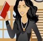 A nova professora