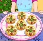Receita de mini pizza