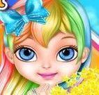 Bebê Barbie moda My Little Pony