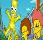 Achar letras dos Simpsons