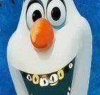 Olaf no dentista