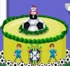 Decorar bolo Copa do Mundo