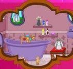Decorar banheiro da Princesa Sofia