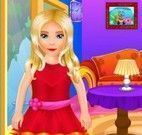 Limpar e arrumar casa da menina