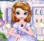 Limpeza do castelo da Princesa Sofia