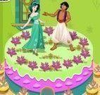 Bolo decorar Princesa Jasmine
