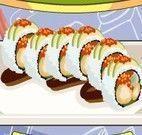 Fazer sushi de camarão