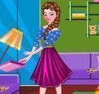 Anna limpar casa