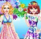 Show de moda floral