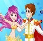 Amor da pequena sereia e o príncipe