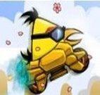 Andar de moto com os Angry Birds