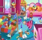Arrumar o quarto de menina