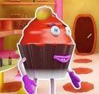 Atirar nos cupcakes