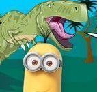 Minions decorar Jurassic Park