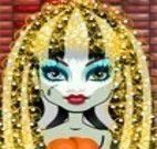 Cuidar do cabelo da Frankie Monster High