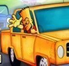 Simpsons dirigir carros aventura