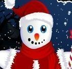 Enfeitar boneco da neve