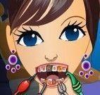 Cuidar dos dentes da adolescente
