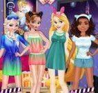 Noite de filmes das princesas