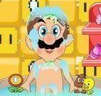 Mario na banheira