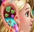 Rapunzel tratamento do ouvido
