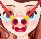 Princesa Sofia médico do nariz
