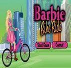 Barbie Bicicleta balões